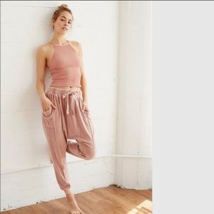 🆕 $128 Free People- Velour Pants, Sz S